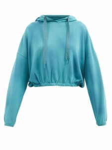 Fendi - Heart Motif Velvet Bomber Jacket - Womens - Black