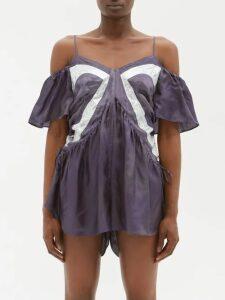 Prada - Logo Nylon Backpack - Womens - Black