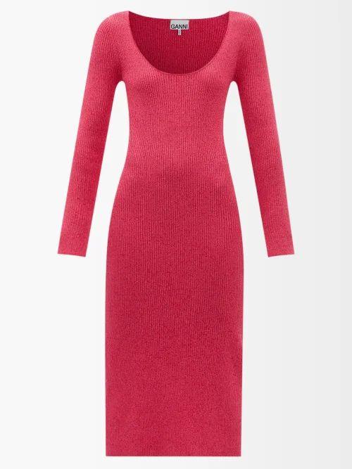 Juliet Dunn - Leaf Print Cotton Jacket - Womens - Black Multi
