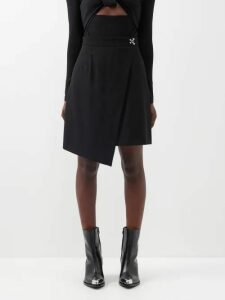 Emilia Wickstead - Niamh Draped Crepe Midi Dress - Womens - Ivory
