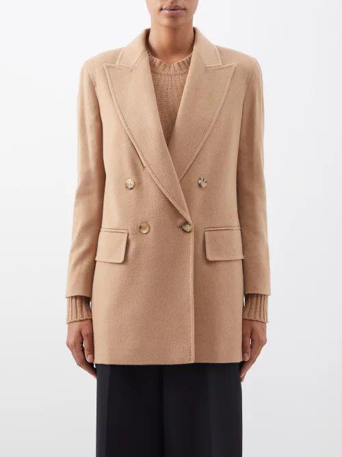 Erdem - Vesper Getrude Print Floral Midi Skirt - Womens - Blue Multi
