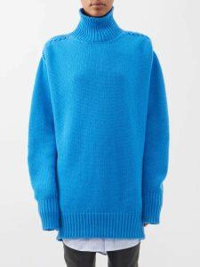 Emilia Wickstead - Benito Metallic Gathered Midi Dress - Womens - Silver