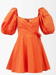 Wales Bonner - Checked Midi Skirt - Womens - Blue White