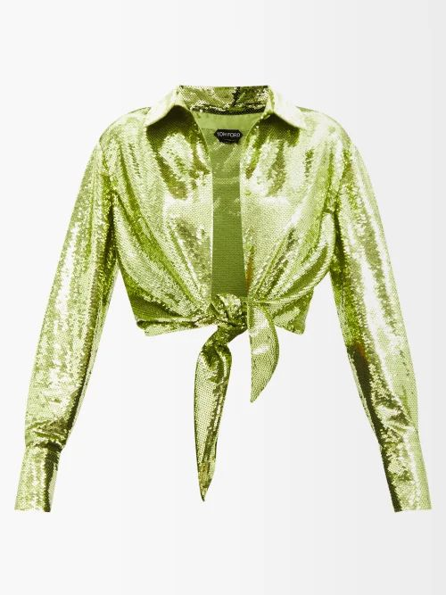 Stella Mccartney - Herringbone Wool Blend Coat - Womens - Grey