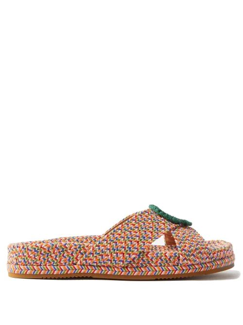 Sies Marjan - Pippa Double Breasted Shearling Coat - Womens - Light Blue
