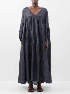 Raey - 1970s Tiger Shearling Coat - Womens - Brown