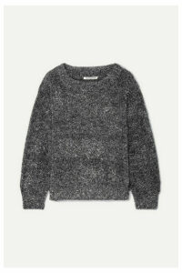 Georgia Alice - Tinsel Lurex Sweater - Silver
