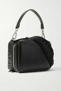 Chloé - Metallic Intarsia Wool-blend Sweater - Brown
