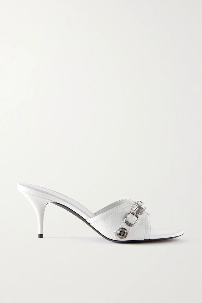 Carolina Herrera - Pleated Floral-print Cotton-blend Faille Midi Skirt - Black