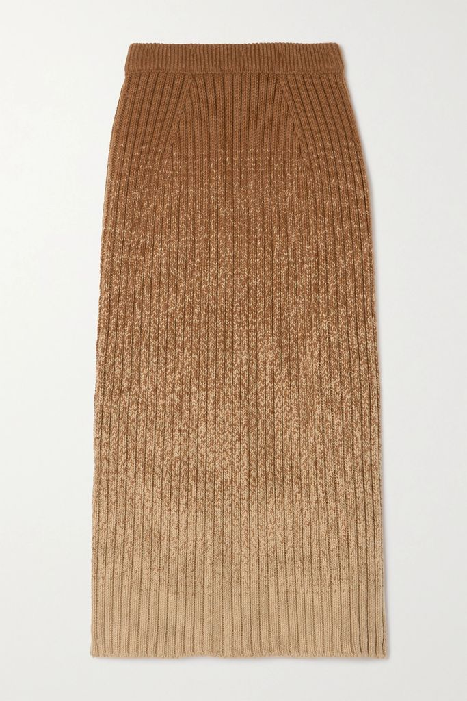By Malene Birger - Tilli Checked Linen And Cotton-blend Twill Top - Navy