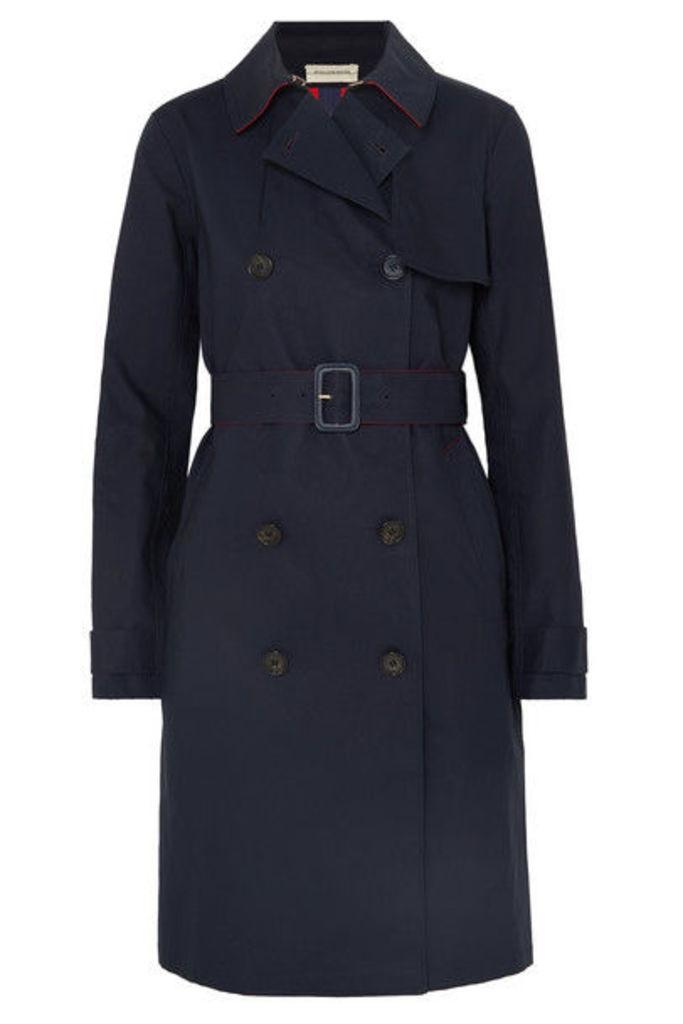 By Malene Birger - Rainie Cotton-gabardine Trench Coat - Blue