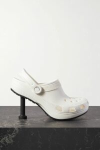 Preen by Thornton Bregazzi - Tracy Ruched Printed Stretch-crepe Midi Skirt - Black