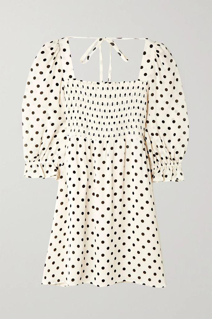 Bottega Veneta - Pleated Glossed-leather Skirt - Orange