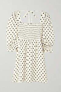 Bottega Veneta - Pleated Glossed-leather Skirt - Orange