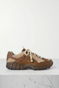 Chloé - Double-breasted Wool-blend Coat - Black