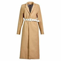 BOBYPERU - Camel Wool Gown Coat