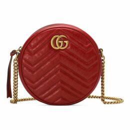 GG Marmont mini round shoulder bag