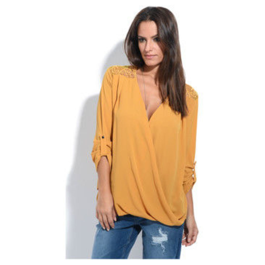 Anabelle  Blouse  women's Blouse in Yellow