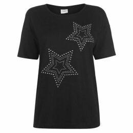 JDY Star Short Sleeve T Shirt