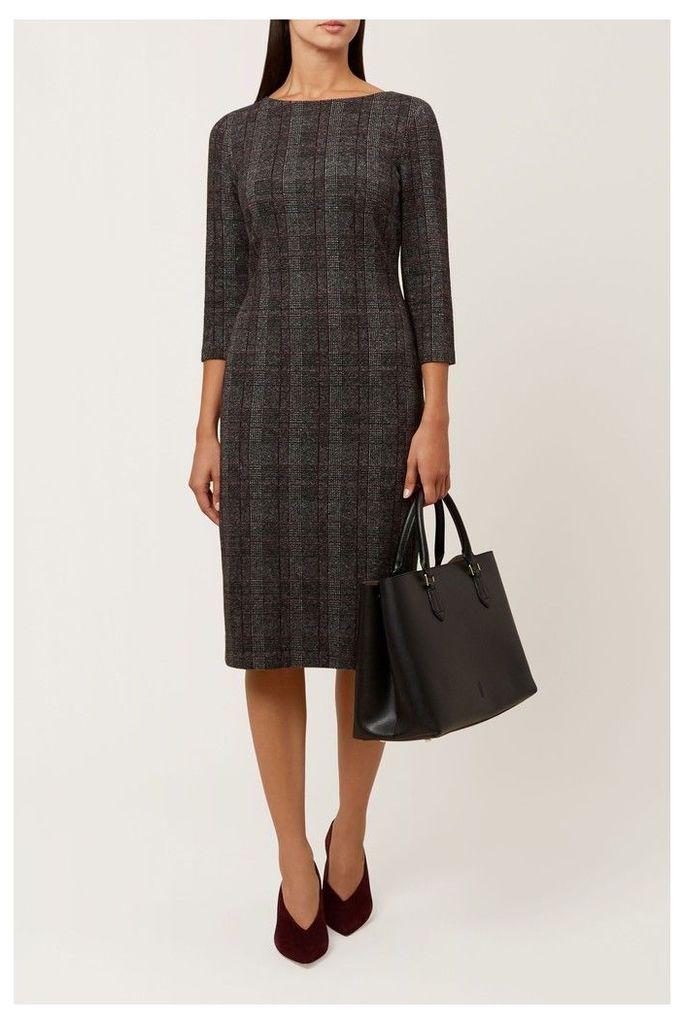 Womens Hobbs Multi Josie Dress -  Grey