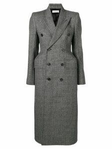 Balenciaga Hourglass double breasted coat - Black