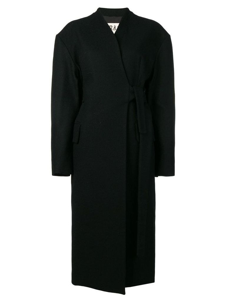 A.W.A.K.E. Mode longline coat - Black