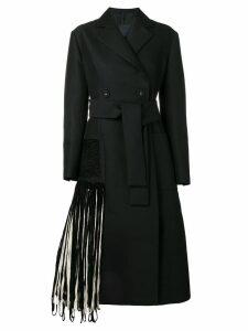 Proenza Schouler cord fringe coat - Black