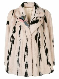 Liska printed coat - Neutrals