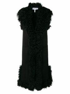 Loewe long vest coat - Black