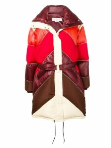 Golden Goose Ebra quilted coat - Red