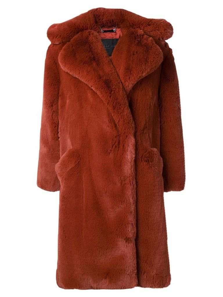 Givenchy oversized coat - Brown