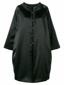 Gianluca Capannolo oversized single-breasted coat - Black