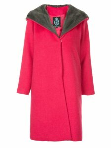 Guild Prime faux fur collar coat - Pink
