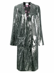 Racil Vivien sequin coat - Black