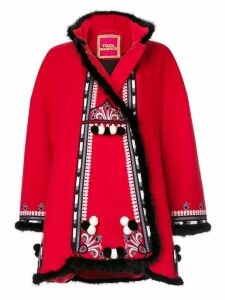 Yuliya Magdych Hutsil embroidered coat