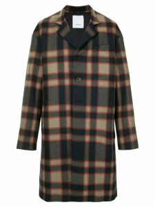Ports V checked coat - Multicolour
