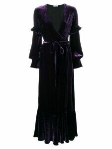 Raquel Diniz tie waist gown - Purple
