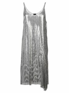 Paco Rabanne chainmail short dress - Silver