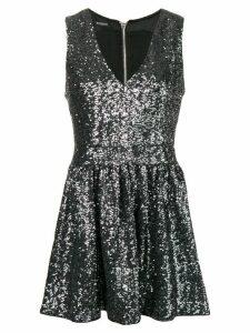 Balmain sequins mini dress - Grey