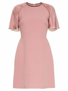 Roksanda Nia pleated sleeve mini dress - Pink