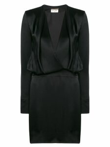 Saint Laurent perfectly fitted dress - Black
