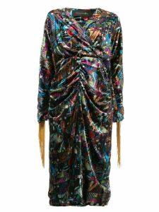 Romance Was Born Del patchwork dress - Multicolour
