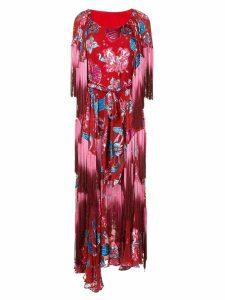 Romance Was Born Xanadu flower dress - Red