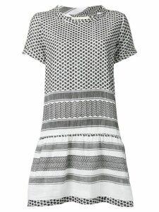 Cecilie Copenhagen printed short dress - Black