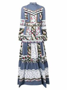 Erdem Cassandra maxi dress - Blue