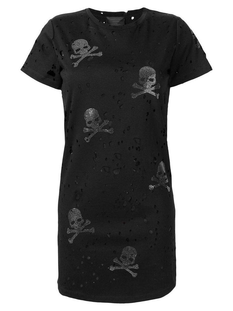 Philipp Plein Skull T-shirt dress - Black