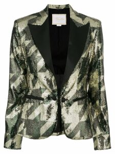 Redemption sequin blazer - Gold