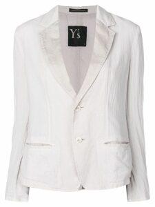 Y's lightweight blazer - Grey