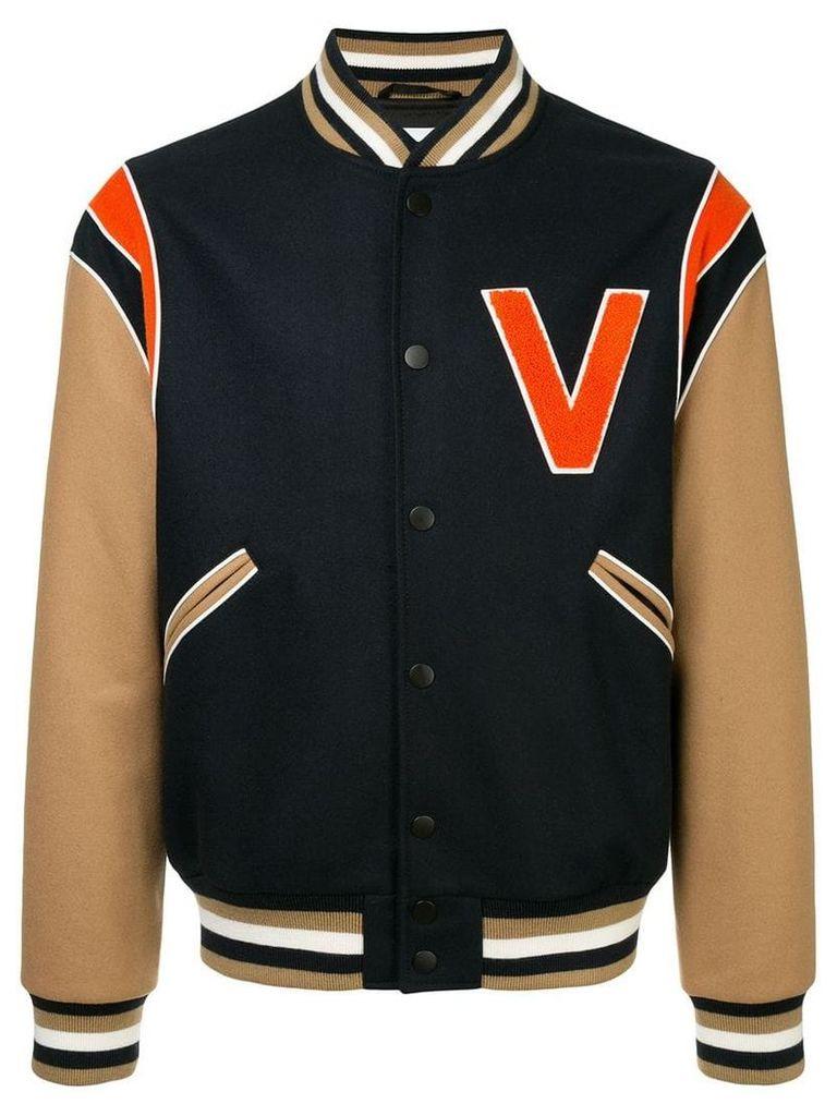 Ports V varsity jacket - Blue