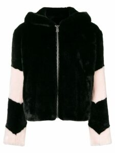 La Seine & Moi Louve faux fur jacket - Black